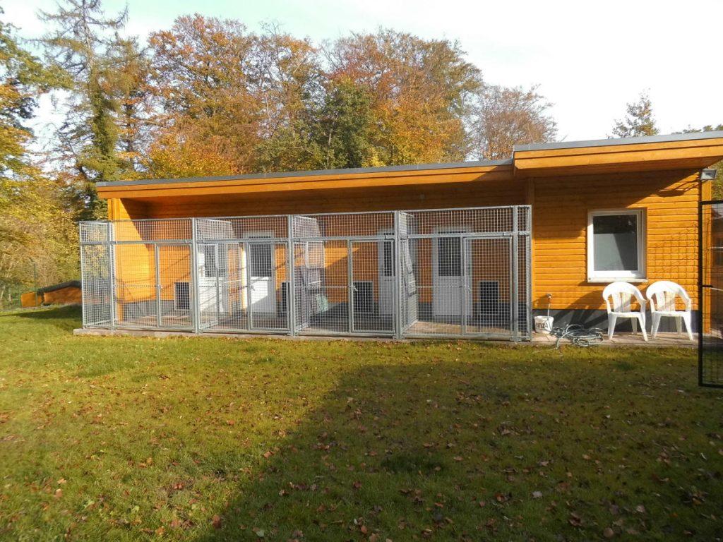 Neues Hundehaus Tierheim Barsinghausen