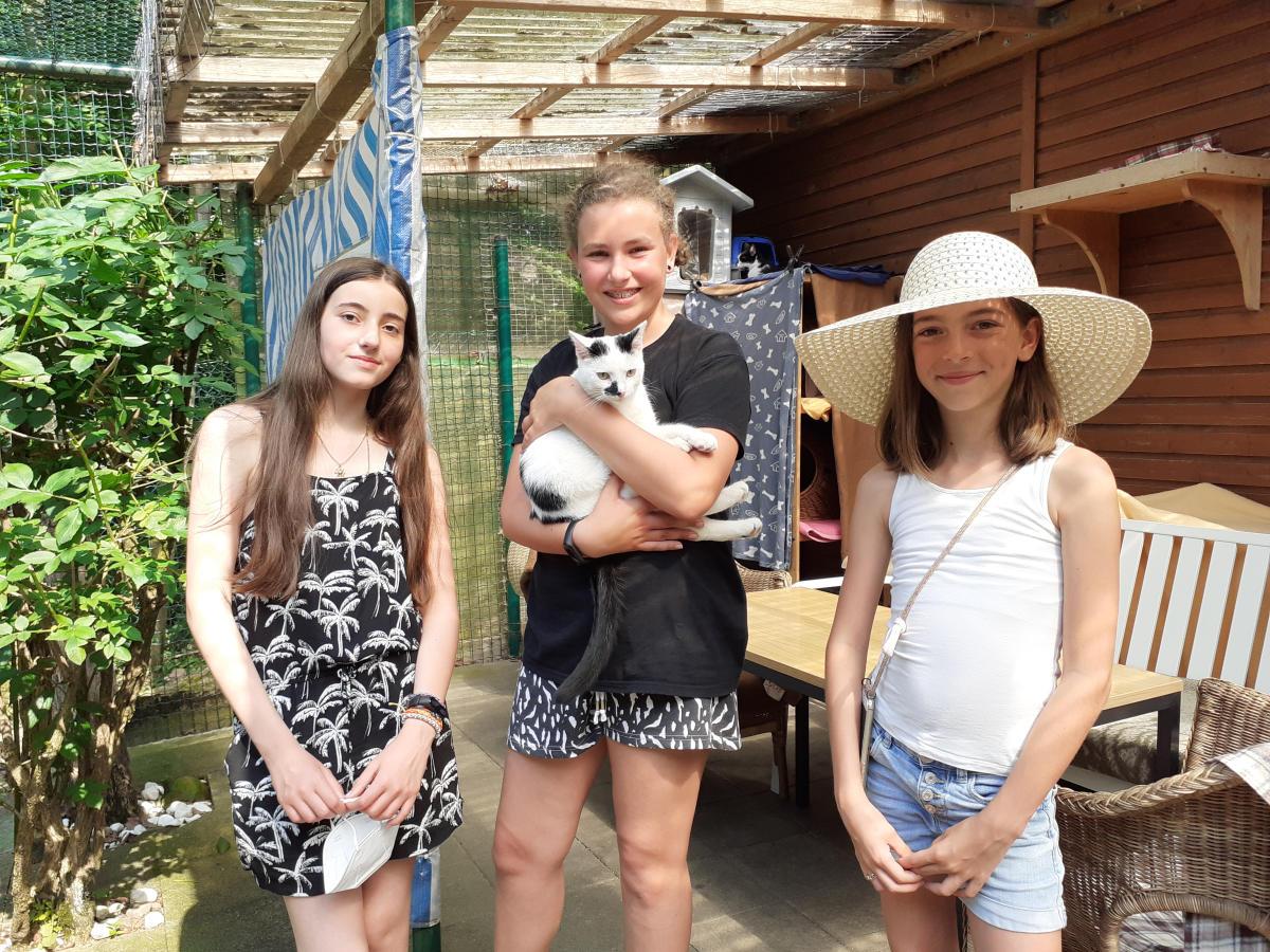 Aktive Kinder Spende an das Tierheim Barsinghausen